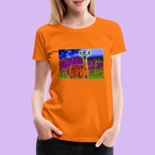 Cerbiatto con magici effetti - Maglietta Premium da donna