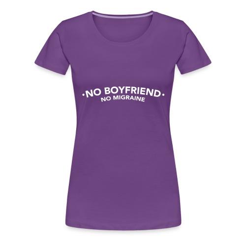 NoBoyfriend - T-shirt Premium Femme