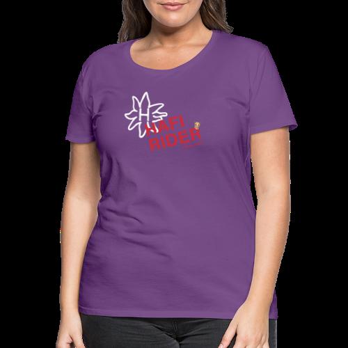 Hafi-Rider / Haflinger / Pferd / Pony - Frauen Premium T-Shirt