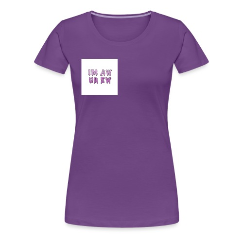large jpg - Frauen Premium T-Shirt