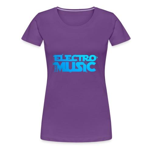 T-Shirt Electro Music Homme - T-shirt Premium Femme