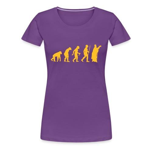 PAPAL EVOLUTION - Women's Premium T-Shirt
