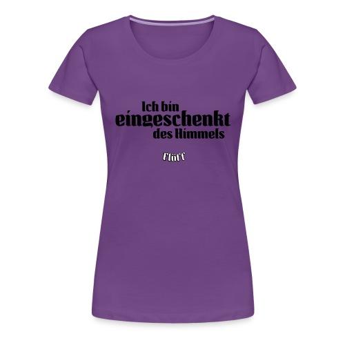 floeff eingeschenkt 2c - Frauen Premium T-Shirt