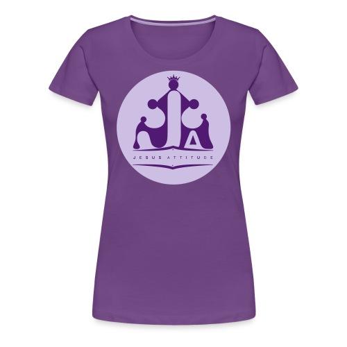 Jesus Attitude # - T-shirt Premium Femme