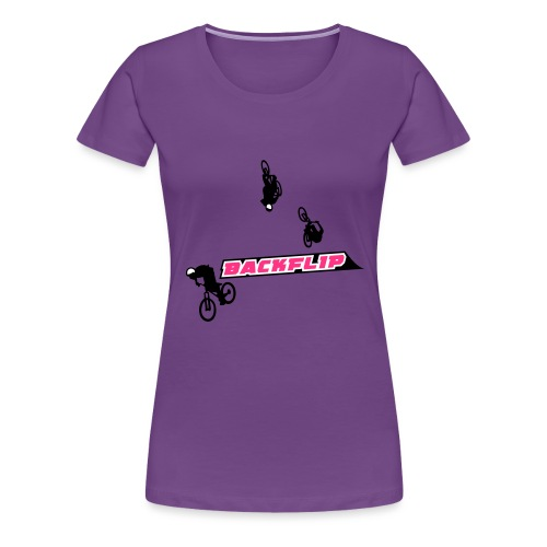 Backflip - Frauen Premium T-Shirt