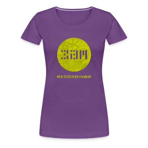 Graffiti 1 1400x1400 YELLOW TRANSPARENT png - Women's Premium T-Shirt