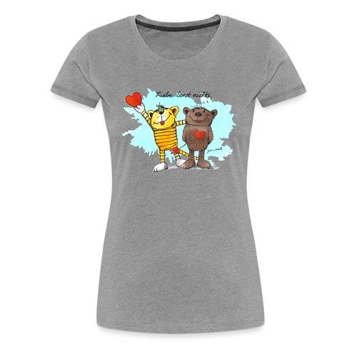 Janosch Tiger Und Bär Beste Freunde Liebe - Frauen Premium T-Shirt