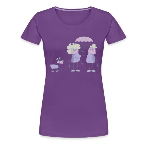 Gassigehn - Frauen Premium T-Shirt