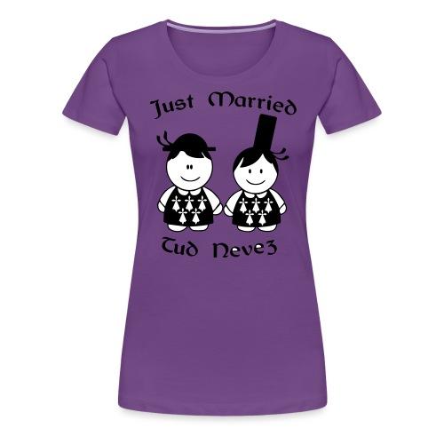 Married Bretagne - T-shirt Premium Femme