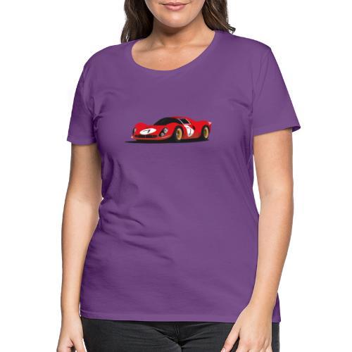 Illustration of a legend - Frauen Premium T-Shirt