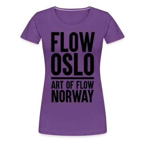 Flow Oslo Tribe Supporter - Premium T-skjorte for kvinner