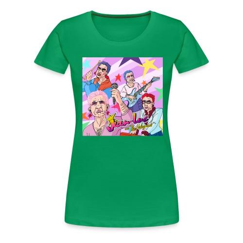 Jean Luc leshologrammes - T-shirt Premium Femme
