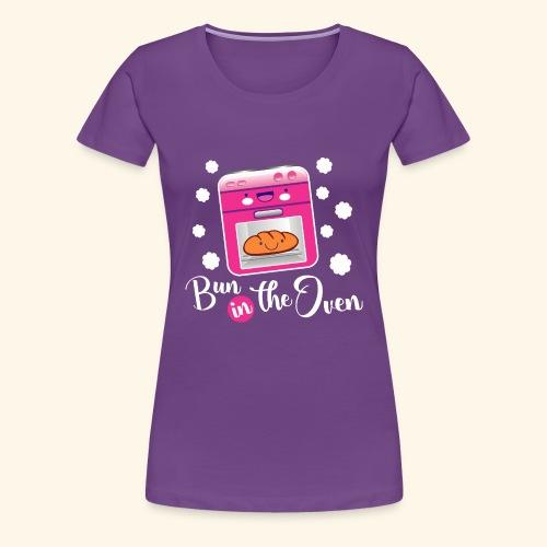 Bun in the oven - Camiseta premium mujer