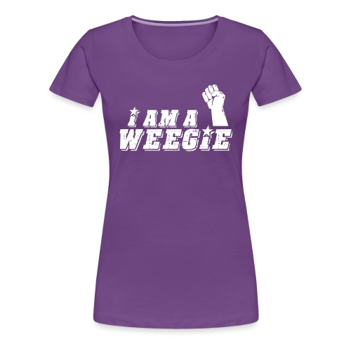 I Am A Weegie - Women's Premium T-Shirt