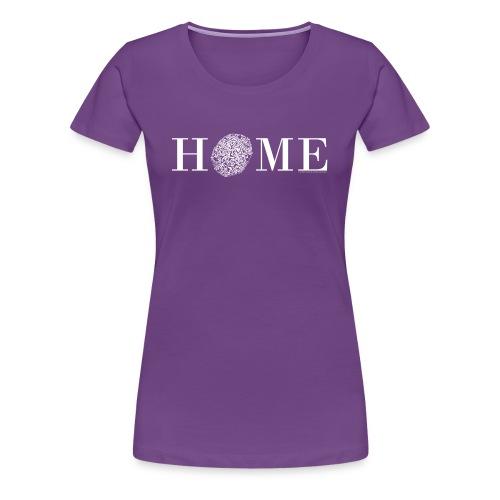 HOME - Nördlingen, Altstadt, weiß - Frauen Premium T-Shirt
