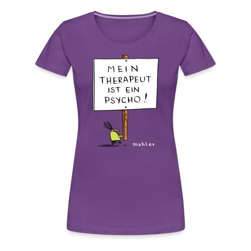 therapeut - Frauen Premium T-Shirt