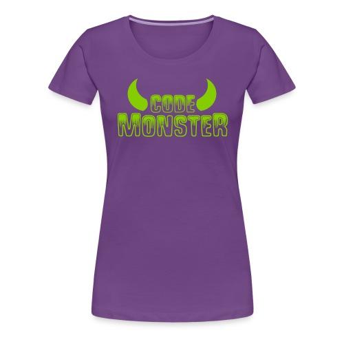 codemonster - Vrouwen Premium T-shirt
