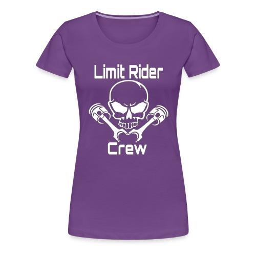 Pully-Format_hinten_Shop - Frauen Premium T-Shirt