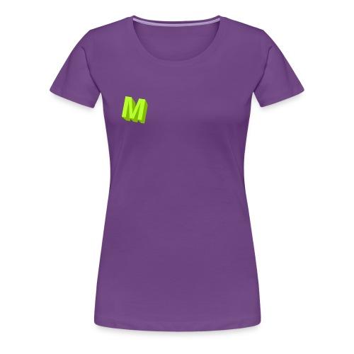 Muffins Logga - Premium-T-shirt dam