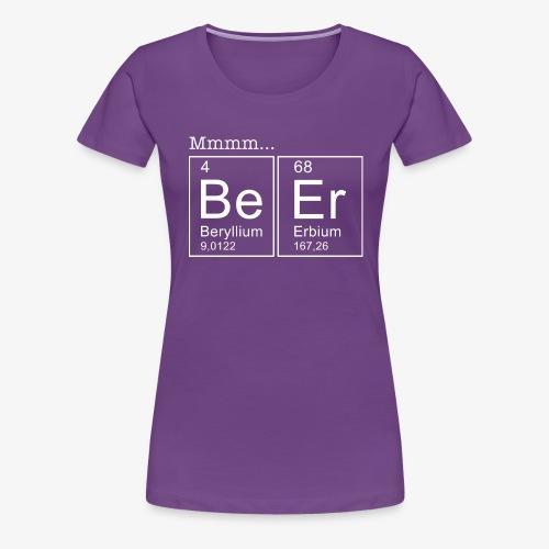 Beer Periodic Table of Elements - Frauen Premium T-Shirt