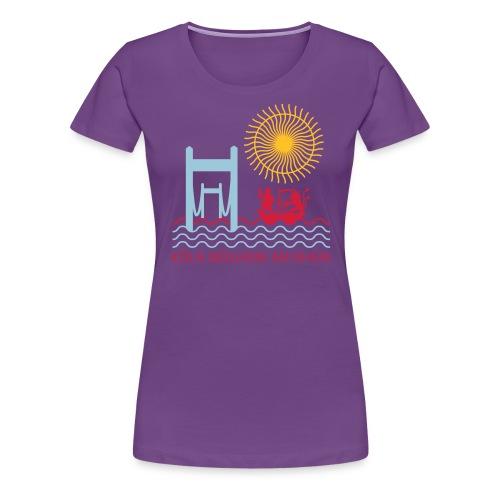 koelnmuelheim mit sonne - Frauen Premium T-Shirt