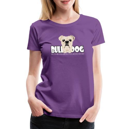 Bulldog - DGBighead (Fawn) - Women's Premium T-Shirt