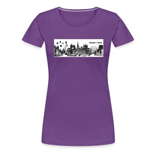 tattoo münster - Frauen Premium T-Shirt
