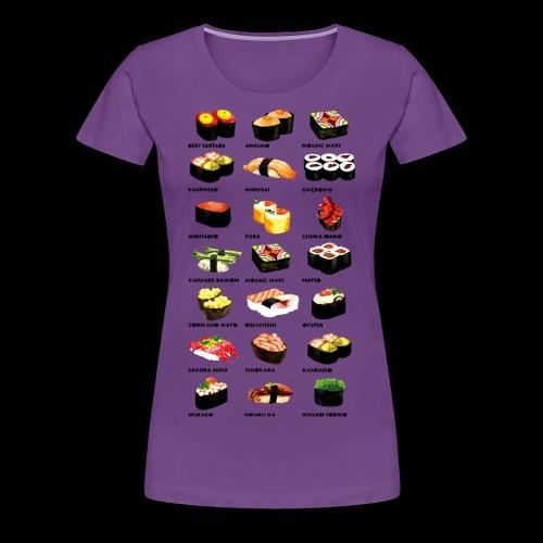 Sushi Dinner - Women's Premium T-Shirt