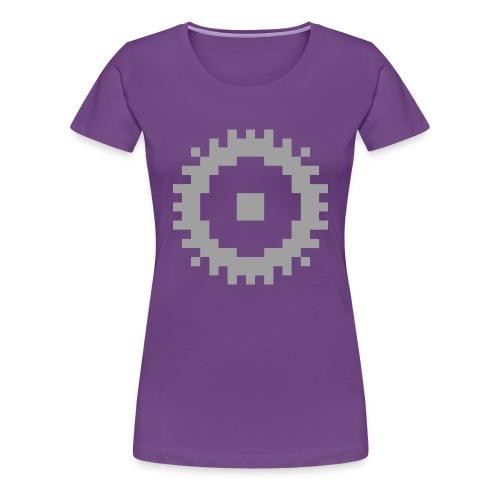 GearMC (solo logo) - Maglietta Premium da donna