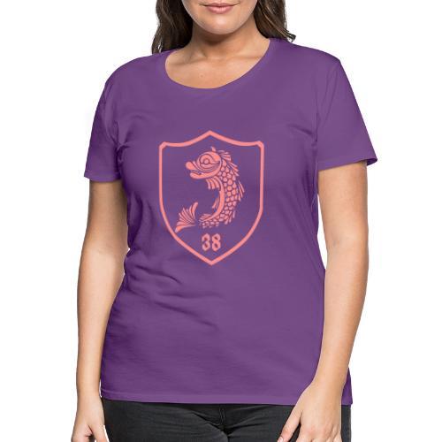 grenoble, dauphin blason 38 - T-shirt Premium Femme