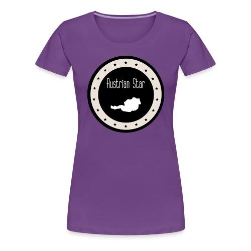 Austrian Star - Frauen Premium T-Shirt