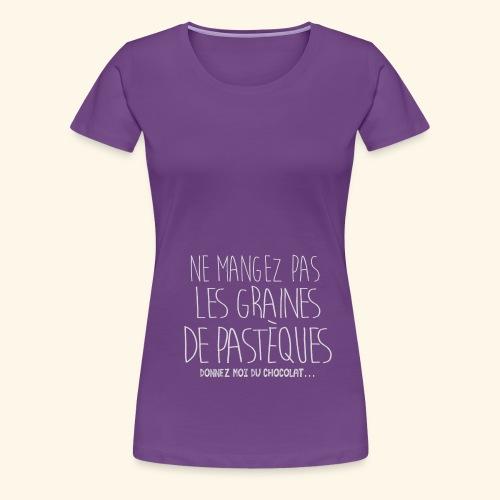 Tshirt-Femme-Enceinte-B - T-shirt Premium Femme
