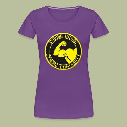 Stronghands 2.0 - T-shirt Premium Femme