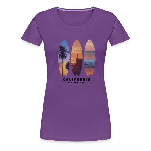Cali Palms - Camiseta premium mujer