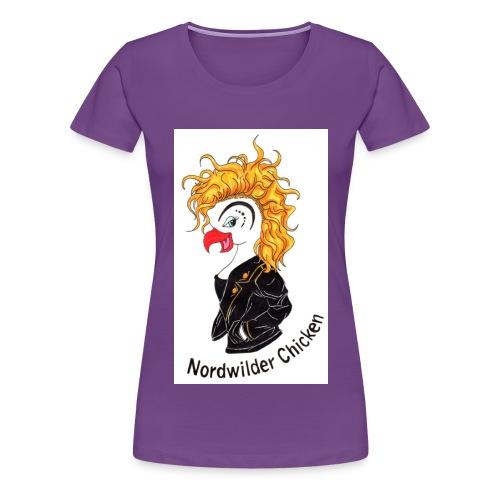 Chicken Logo - Frauen Premium T-Shirt