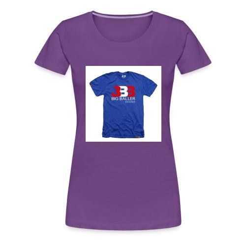 ClassicBBBroyalredwhite 1024x1024 - Vrouwen Premium T-shirt