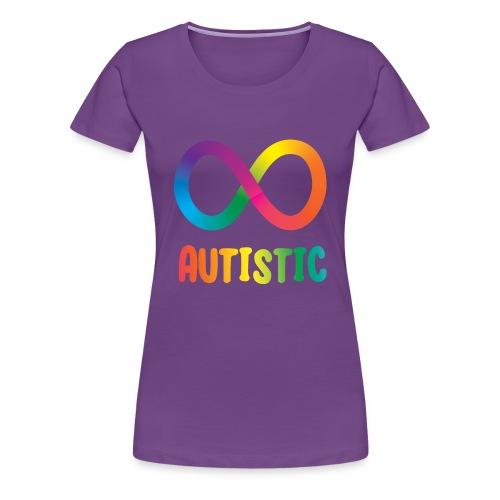Autistic Infinity - Women's Premium T-Shirt