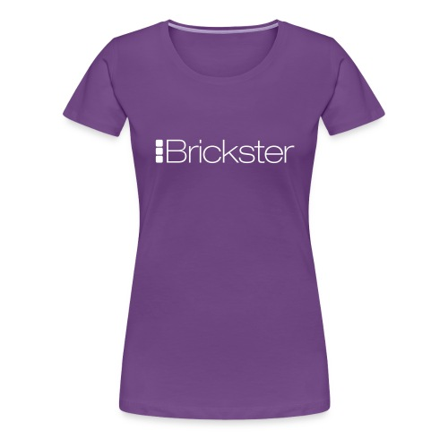 Brickster logo vector - Maglietta Premium da donna