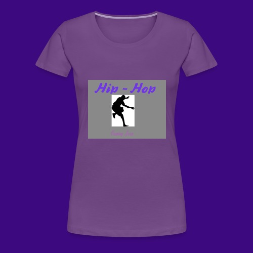 hip hop 2 cre ation - T-shirt Premium Femme