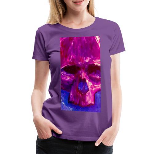 Purple Skull - Vrouwen Premium T-shirt