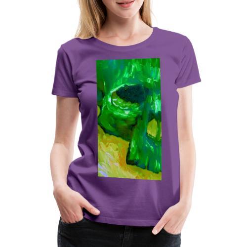 Green Skull #2 - Vrouwen Premium T-shirt