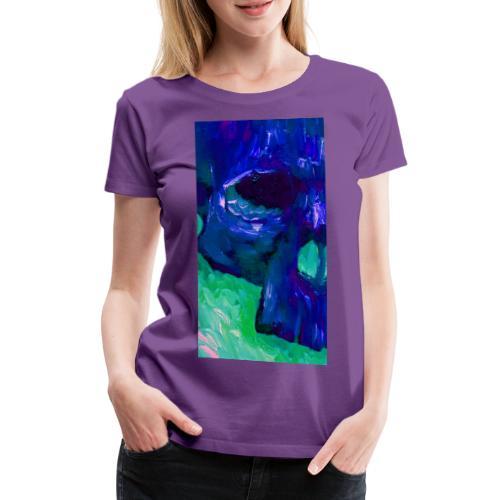Blue Skull #2 - Vrouwen Premium T-shirt