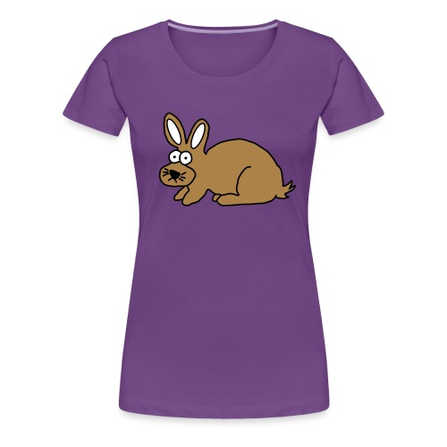 Hase - Frauen Premium T-Shirt