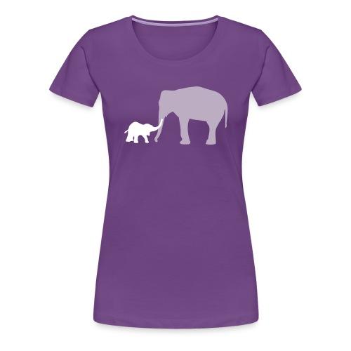 Elephanti - Vrouwen Premium T-shirt