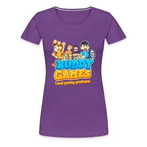 BuddyGames - Women's Premium T-Shirt