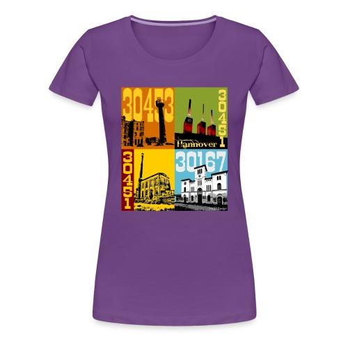 Stadtansichten Hannover Set 02 - Frauen Premium T-Shirt