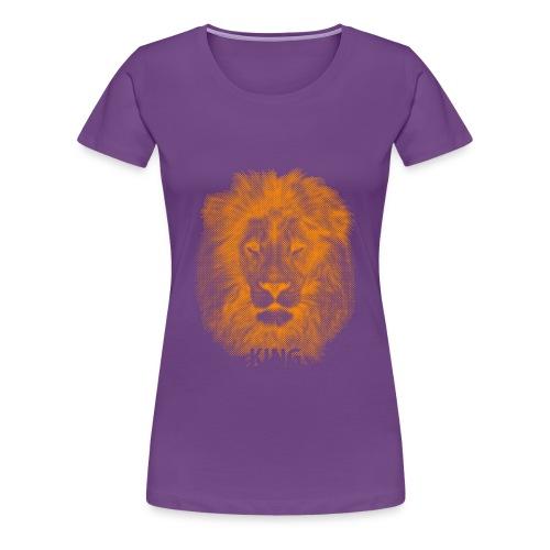 lionking (orange) - Women's Premium T-Shirt