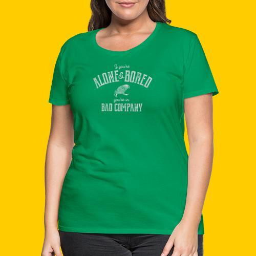Alone and bored - Premium-T-shirt dam