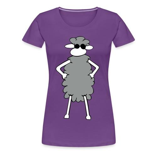 Sheep cool! - Frauen Premium T-Shirt