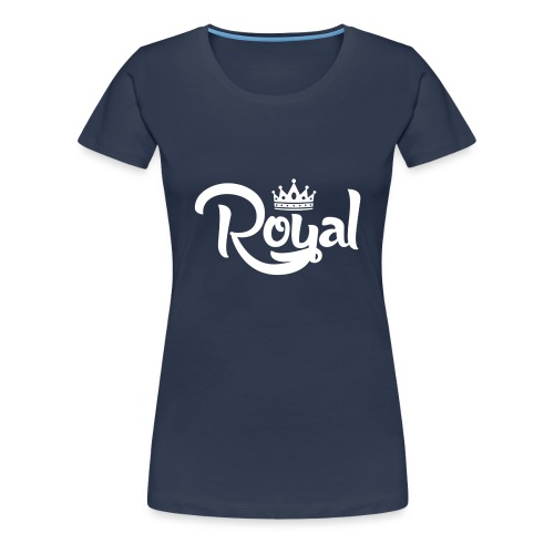 Royal Logo White Edition - Women's Premium T-Shirt